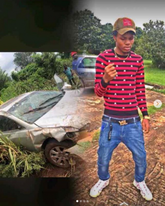 Regina Daniels brother survives