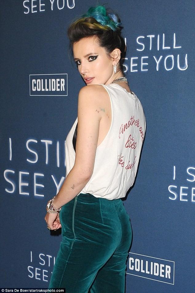 Actress Bella Thorne