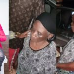 Duncan Mighty gifts an elderly woman