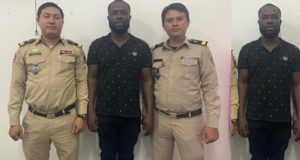 Nigerian man arrested