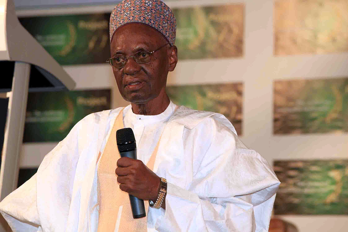 Shehu Shagari remains flown