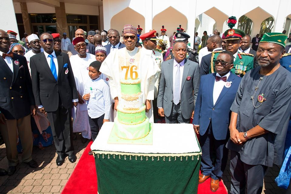 President Buhari's 76th birthday celebration