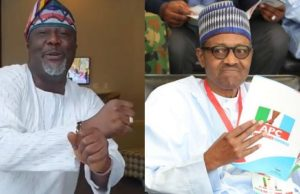 Dino Melaye attacks President Buhari