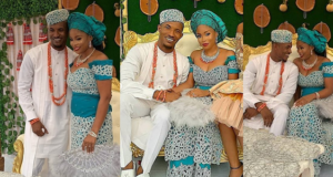 Gideon Okeke traditional wedding