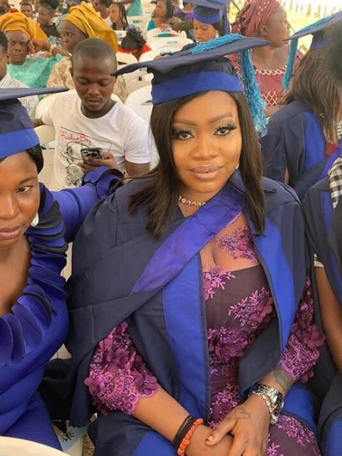 Olori Memunat graduates