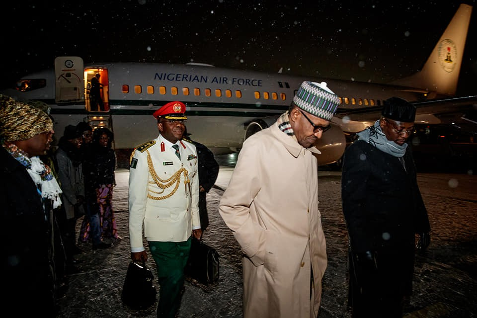 President Buhari arrives Poland