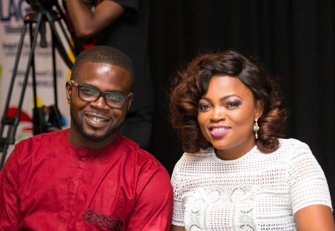 Funke Akindele welcomes first child