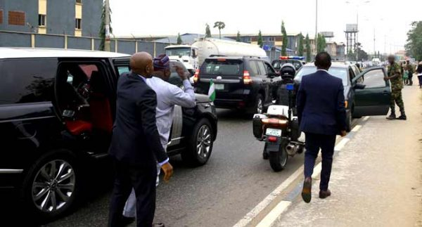 Ambode Arrests Soldier
