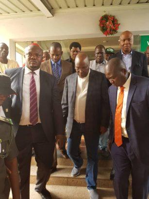 Atiku Abubakar arrives Nigeria