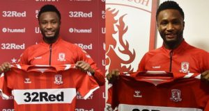 Mikel Obi joins Middlesbrough