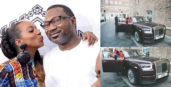 Femi Otedola Reacts To DJ Cuppy's Rolls Royce Phantom ...