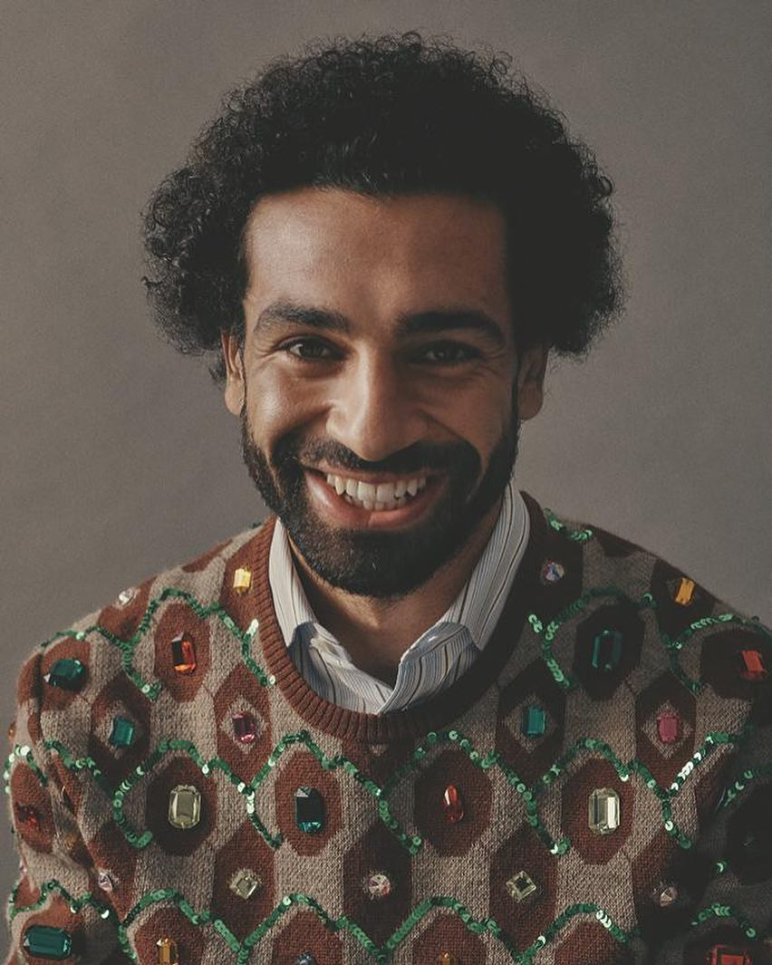Mohamed Salah shaves