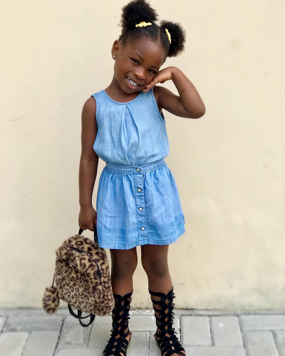 Davido's daughter Imade Adeleke