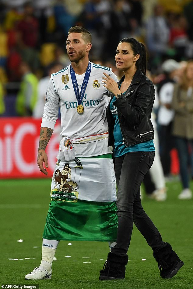 Sergio Ramos marry