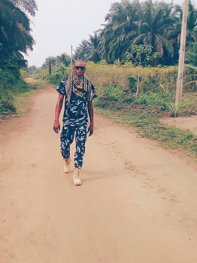 Nigerian soldier stationed
