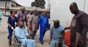 Baba Suwe admitted