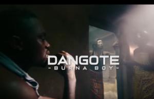 Burna Boy Dangote Video