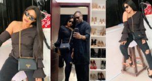 Lady slams Laura Ikeji for flaunting a fake Prada bag
