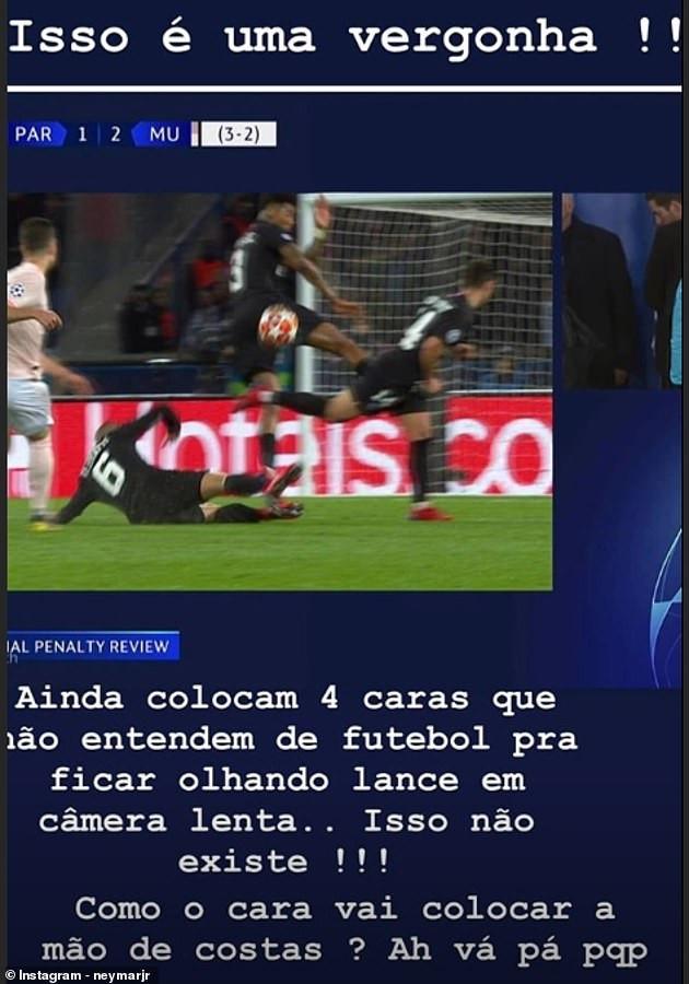 UEFA hits Neymar