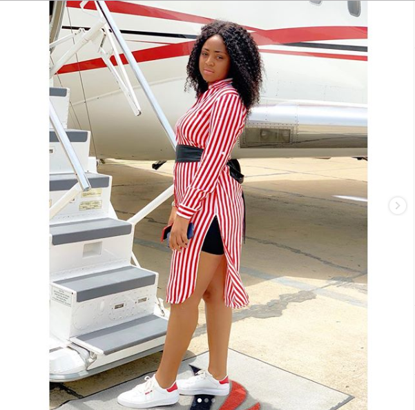 Ned Nwoko's 'private jet'