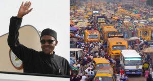 President Buhari Visits Lagos