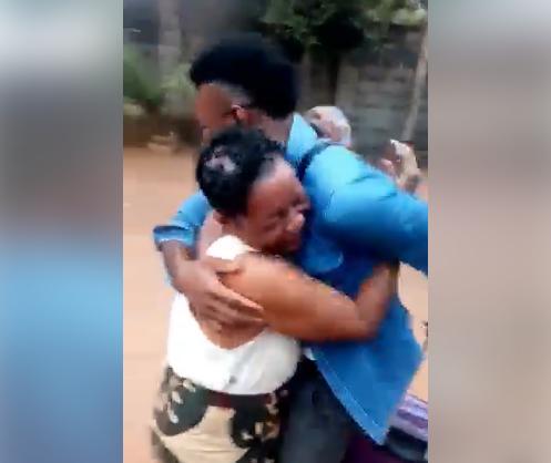 Nigerian man surprises mother