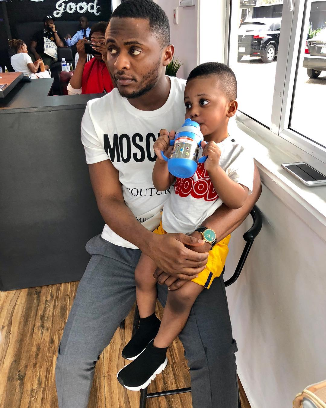 Ubi Franklin's fourth child