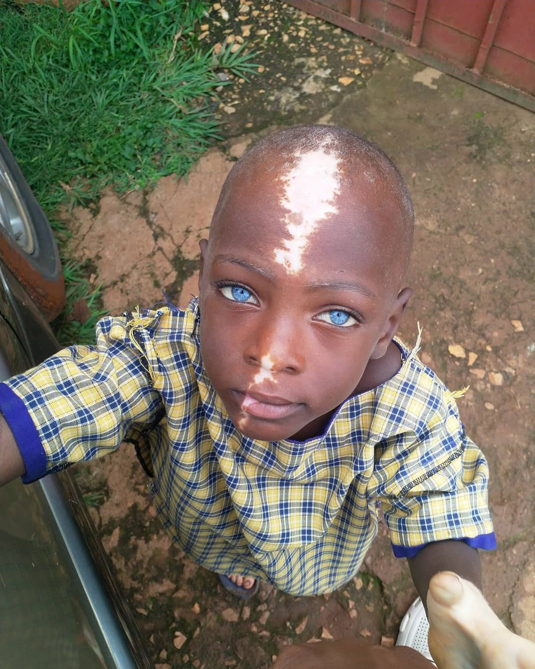 Ugandan boy becomes internet sensation