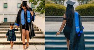 Amanda graduates from US university