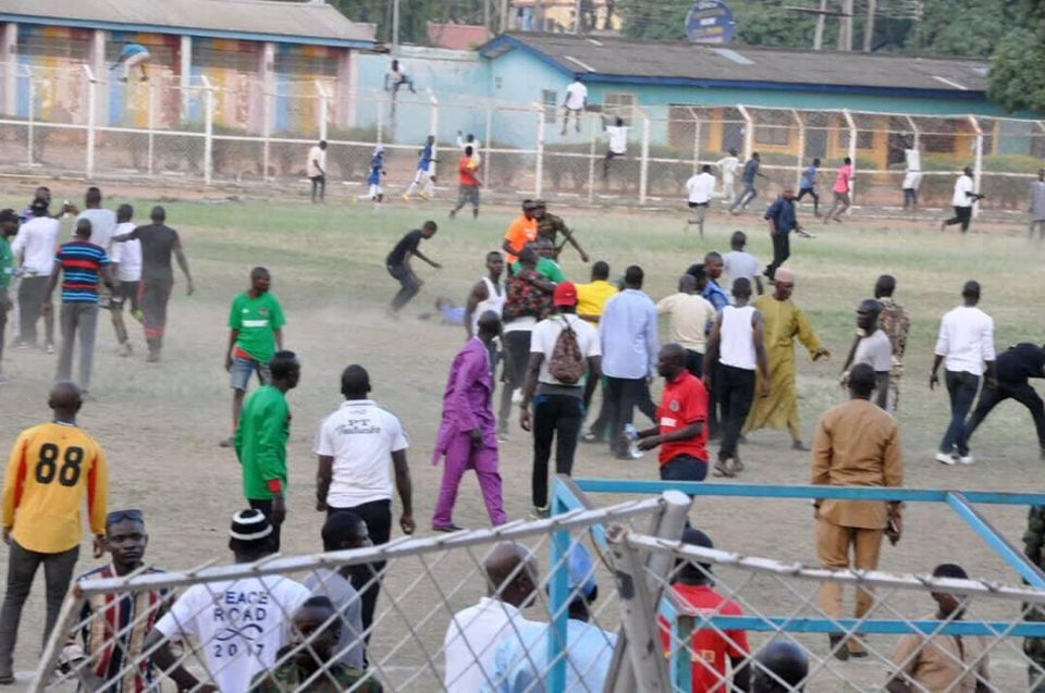 army team loses football match