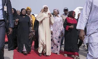 President Buhari returns