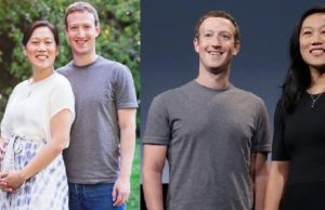 Mark Zuckerberg celebrates
