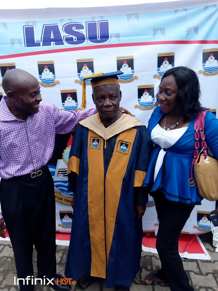 80-year-old man bags MSc