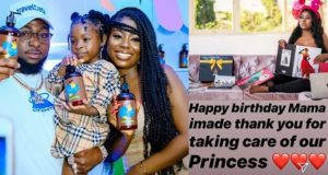 Davido Celebrates First Baby Mama