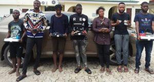 EFCC Arrests Seven Suspected Internet Fraudsters