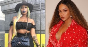 Victoria Kimani reacts