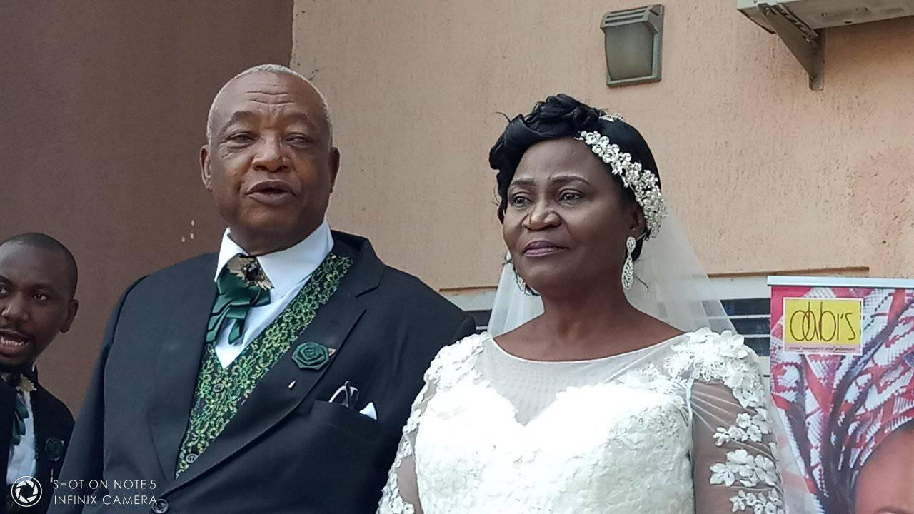 73 year old man wed