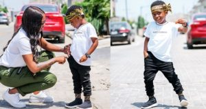 Tiwa Savage celebrates son
