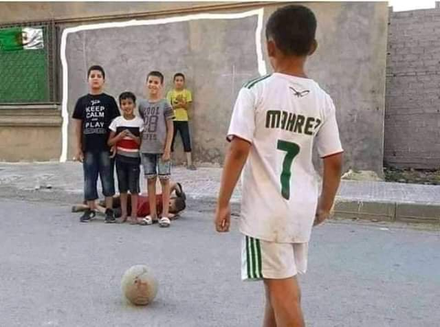 Algeria kids mock Super Eagles