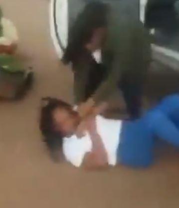 Enraged wife beats