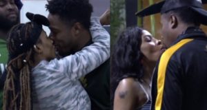 BBNaija Mercy kisses