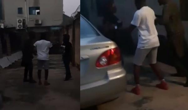 Nigerian man storms