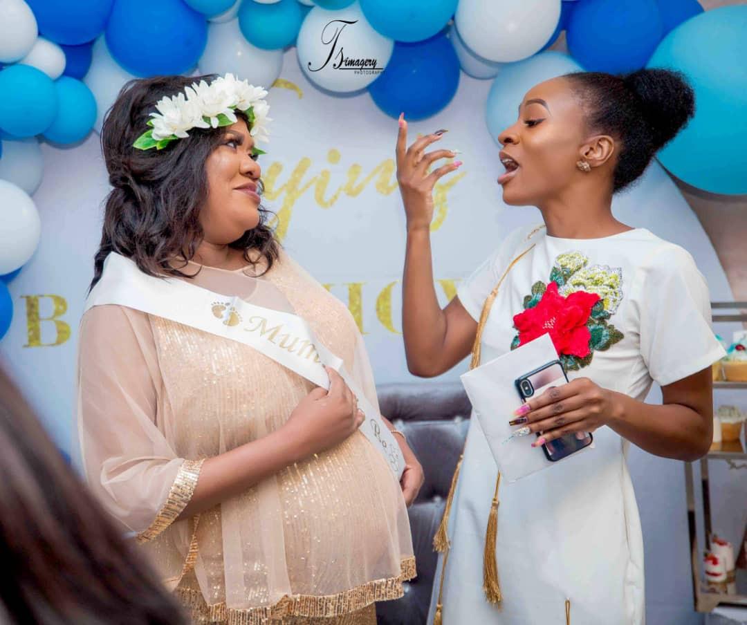 Toyin Abraham's Surprise Baby Shower
