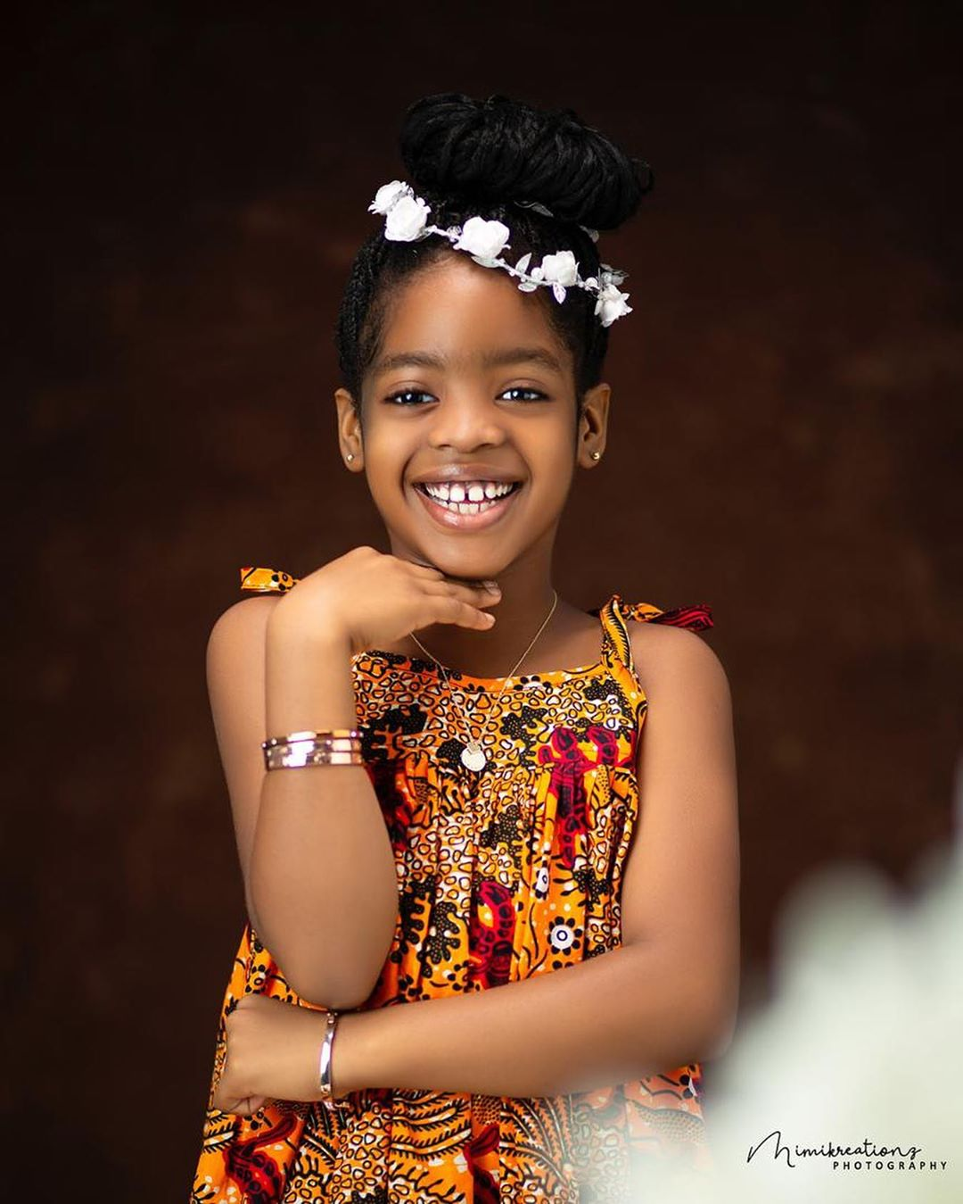 Basketmouth celebrate daughter