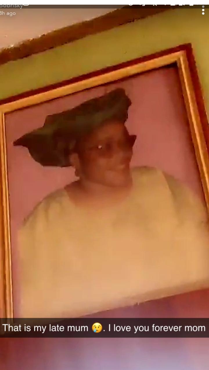 Bobrisky's late father