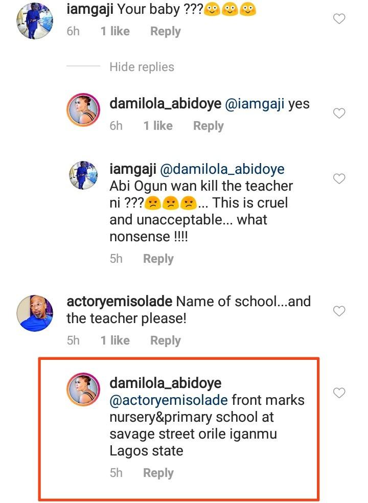 Damilola Abidoye exposes