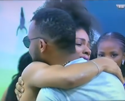 BBNaija: Venita breaks down in tears after Joe was evicted (video)