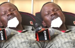 Kenyan woman bites