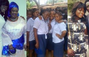 Epic throwback photos of Funke Akindele