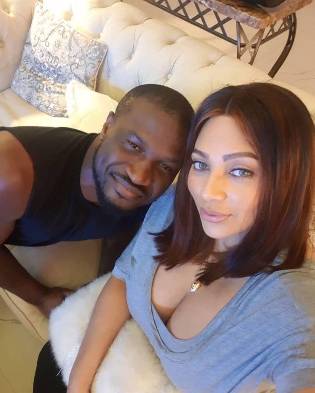 Peter Okoye celebrates wife